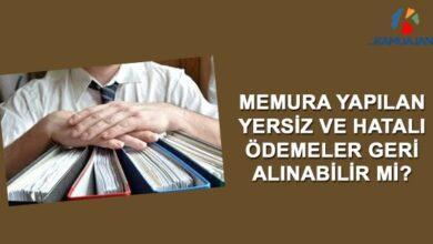 Photo of Yersiz Ödemenin İstirdadı